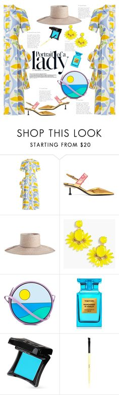 """She is a lady"" by naki14 ❤ liked on Polyvore featuring Inez & Vinoodh, Miu Miu, Prada, Zimmermann, J.Crew, Yazbukey, Amica, Tom Ford, Illamasqua and Bobbi Brown Cosmetics"