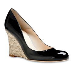 Maddox Patent Wedge | Shoes | Sale | Collections | L.K.Bennett, London