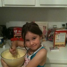 My niece, Betty Crocker jr.