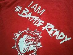 Hamilton Bulldogs T-shirt AHL OHL CHL  .Defunct team.  I am #Battle Ready