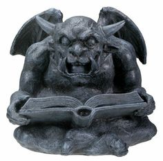Gargoyle ... I want one like this for the garden!