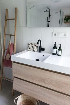 Bathroom styling | Badkamer inspiratie | Make-over badkamer | Naturel bathroom