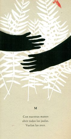 Ilustración de Guridi para la obra Abecedario del cuerpo imaginado, de Mar Benegas.
