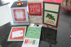 Set of 5 Bottle Neck Gift Tags Christmas New by AllOnAHeartstring