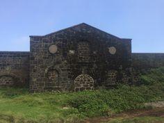 Old marine barracks  Green mountain  Ascension Island Marine Barracks, Ascension Island, Green Mountain, Atlantic Ocean, Big Ben, House Styles