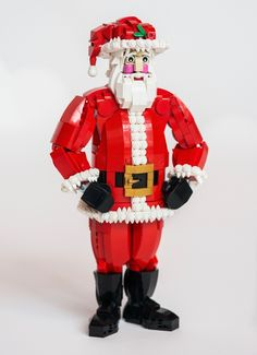 He's known by many names... Saint Nicholas, Father Christmas, Kris Kringle.., but there's only one Santa Claus! Now you can lend your support to own your very own Santa Claus made of 100% LEGO bricks! Idea History 'Twas the night before Christmas... and I had an idea. A LEGO idea! In 2014, LEGO released a Reindeer (40092) and a Snowman (40093). I absolutely loved these two sets, and I was very impressed with the use of curved slopes and SNOT technics used to produce an organic qua...