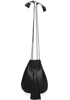 Wendy Nichol's Bullet Bag. This leather tasseled satchel will shoot at hole in any wallet, but that's okay. Checking out at $575