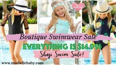 Boutique Swimwear Sale: Find the Perfect Little Girl Swimsuit for Summer Online Little Girl Swimsuits, Swimwear Sale, Spring Sale, Little Girls, Sunglasses Women, Cover Up, Belle Boutique, Swimming, Posts