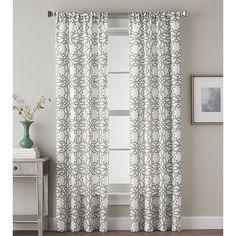 Found it at Joss & Main - Kristina Trellis Rod Pocket Single Curtain $12.37 Panel