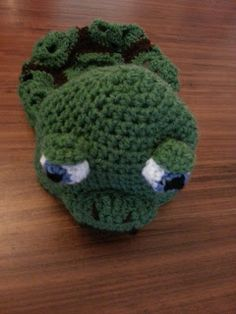 Turtle Crochet Hat and Shell
