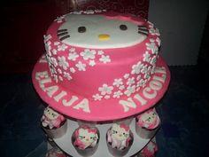 #chocolatecake #hellokitty #pink