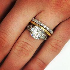 10 Mixed Metal Wedding Sets Ideas Mixed Metals Wedding Mixed Metal Wedding Rings Wedding Rings