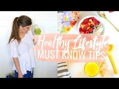these healthy lifestyle tips changed my life & I hope they inspire you to get motivated and live healthy! recipes, fit tips, and more love you! Wellness Tips, Health And Wellness, Cambria Joy, Nutrition, Healthy Lifestyle Tips, Healthy Recipes, Workout, Motivation, Plant Based Recipes