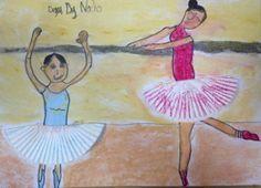 Las bailarinas de Degas para niños