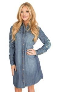 5239f93408 Wrangler with Rodeo Quincy Women s Dark Wash Denim with Floral ...