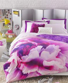 $70  Teen Vogue Bedding, Violet Comforter Sets - Bed in a Bag - Bed & Bath - Macy's