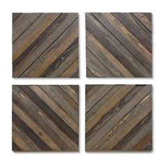 Beautiful Wood Decorative Panels from Threshold™ will bring outdoor charm to your living space. They will add to your rustic decor while reminding you of your favorite outdoor spots. Organize the wooden panels in whichever fashion makes you happiest. Alternate them with photos in wooden frames to tie a wall together.