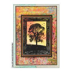 Crafty Individuals CI-181 - 'Winter Tree' Art Rubber Stamp, 67mm x 90mm - Crafty Individuals from Crafty Individuals UK
