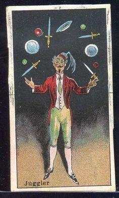 1910s The Circus JUGGLER