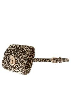 ASOS Faux Leather Leopard Purse Belt - StyleSays
