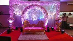 Contact Us For Decorating Your Wedding Or Across South India. Engagement Decorations, Stage Decorations, Flower Decorations, Wedding Decorations, Best Wedding Venues, Wedding Locations, Wedding Tips, Marriage Decoration, Mysore