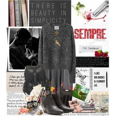 """""""Book Review: Sempre by J.M Darhower"""" by bittersweet89 on Polyvore"""