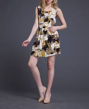 Women Summer Sexy Cocktail Beach Casual Mini Floral Party Short Dress