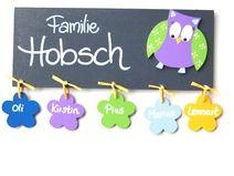 Beautiful T rschilder Namensschilder und Buchstaben aus Holz Deko f r us Kinderzimmer liebevolle Kleinigkeiten