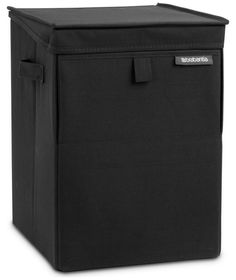 £24 Buy Brabantia Stackable Laundry Box - Black at Argos.co.uk - Your Online Shop for Linen baskets and laundry bins, Linen baskets and laundry bins.