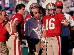 Joe Montana Steve Young George Seifert San Francisco 49ers