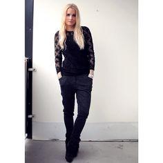 http://fridabloggar.se #outfit #ootd #fashionblog #fashionblogger #isabelmarantpourhm #Padgram
