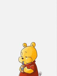 Winnie The Pooh Honey, Winnie The Pooh Quotes, Winnie The Pooh Friends, Winnie The Pooh Background, Cute Cartoon Drawings, Cute Profile Pictures, Pooh Bear, Victorian Art, Pattern Art
