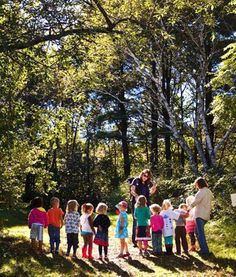 The growing nature school movement is dedicated to getting young kids moving — and learning — outside.