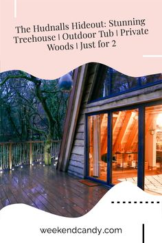 This incredible A-framed treehouse hideaway is set in the 2 acres of private ancient woodland in the beautiful Wye Valley. With its copper outdoor bath tub, total seclusion and luxurious interior, it really is a bridge between you and nature. And a door back that leads you, back to you. #treehouseuk #treehouse #treehousehideaway #luxurytreehouse Tree Houses Uk, Luxury Tree Houses, Outdoor Tub, Outdoor Baths, Europe Travel Guide, Travel Tips, Hotels And Resorts, Best Hotels, Romantic Weekend Getaways