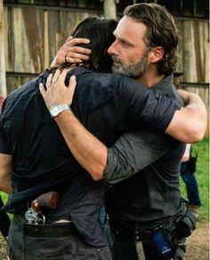 The-walking-dead episode 708 Rick-Daryl the best scene