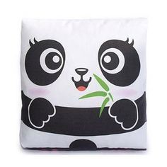Handmade Gifts   Independent Design   Vintage Goods Mini Panda Pillow - Home Decor - For The Home
