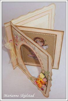 Mariannes papirverden.  Pretty! Project inspiration!