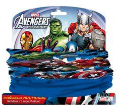 Pañuelo polar Los Vengadores (The Avengers) Magnífico pañuelo para llevar a modo de bufanda inspirado en la película Los Vengadores.