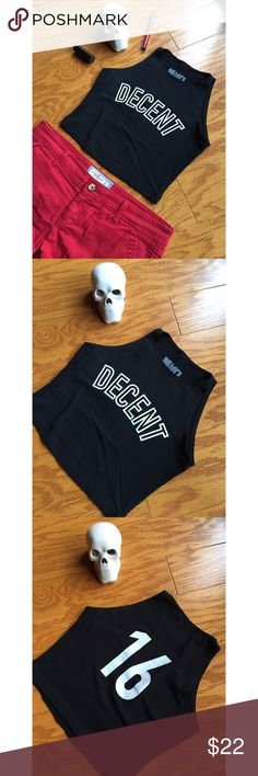 NWOT Mad Decent crop tank top Never worn Mad Decent crop tank top in excellent condition 🖤 **NOT Nasty Gal - listed for exposure**  Buy with confidence! ✔️ Top rated seller ✔️ Fast shipper (1 day) ✔️ Top 10% seller ✔️ Top 10% sharer ✔️ Posh Mentor Nasty Gal Tops Crop Tops