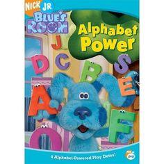 Blue's Room - Alphabet Power (DVD, 2005) SHIPS IMMEDIATELT