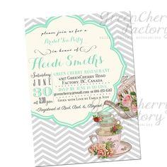 1fc32ef8f16db18b6cd86962d0172716 tea party invitations invitations baby showers tea party invitation templates to print free printable tea party,Free Printable Tea Party Baby Shower Invitations