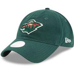 Minnesota Wild New Era Women's Team Glisten 2 9TWENTY Adjustable Hat - Green