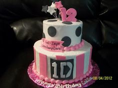one direction cake   Sandy's Sweet Cakes: One Direction Cake
