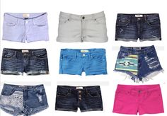 I want some unique shorts this summer.