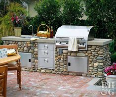 Whether you want small outdoor kitchen designs or an outdoor pizza oven that pulls all the stops, we've got you covered. Create a casual space to grill with family and friends—get inspired with these ideas.