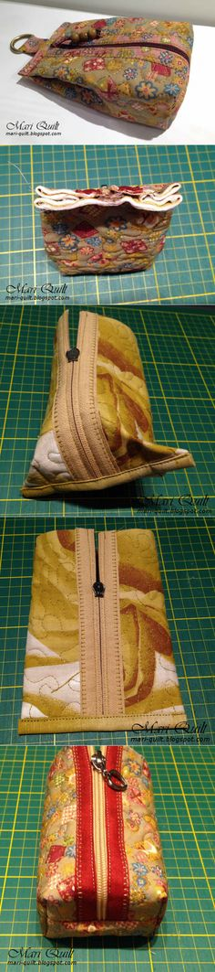 Larger for keeping socks or undies in a tent? Diy Bags No Sew, Coin Purse Tutorial, Serger Sewing, Small Sewing Projects, Diy Hat, Sewing Appliques, Linen Bag, Quilted Bag, Purses And Bags