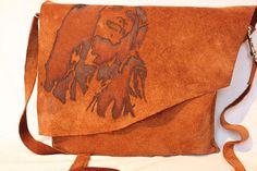 Bob Marley HANDMADE Leather Suede Shoulder by BespokeLeatherCraft
