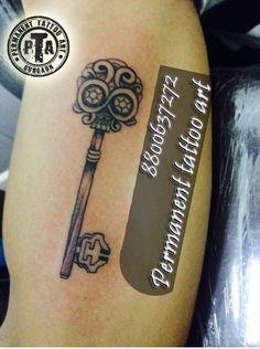 ecbb63693 Key tattoo, key tattoo design, key tattoo design idea, key tattoo design  with