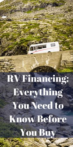 Looking to buy a new RV, beofre you buy learn everything you need to know about RV financing and a few things to do beforehand. Rv Hacks, Camping Hacks, Rv Financing, Small Rv, Riverside California, Buying An Rv, Rv Dealers, News Tips, Rv Tips