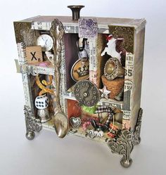 Great idea for all the trinkets I have from my mom, dad and grandparents.